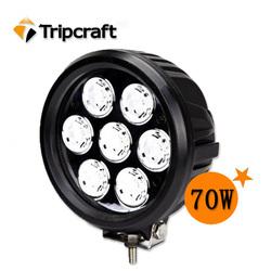 heavy equipment work lights led,12v offroad led light, 70w led working light for car