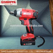 14.4V 12.7mm Mosta Li-Lon Professional Torque Adjustable Electric Impact Wrench