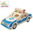 3d diy puzzle wooden car model