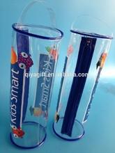Plastique transparent étui à crayons