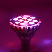 12w 36w 54w spotlight led grow light , E27 led light bulbs plant