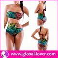 unico e fashional donne foto modello di bikini bikini aperto