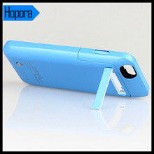 Blue External Protective 3500Mah Power Charge Case for Apple Iphone 6 Battery Cover 4.7 Inch