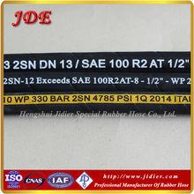 Hydraulic Flexible Corrugated Rubber Hoses ISO9001&API