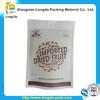 plastic custom printed resealable snack bags