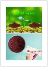 EDDHA Fe 6% /iron chelated fertilizer/farm fertilizer