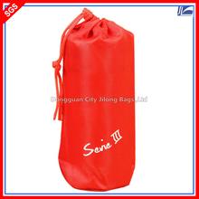 Custom Polyester Wine Bottle Bag Drawstring