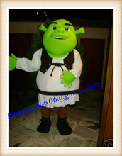 Shrek halloween used mascot costume for sale