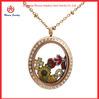 Dongguan professional locket manufacturers letter locket coin locket locket chain necklace