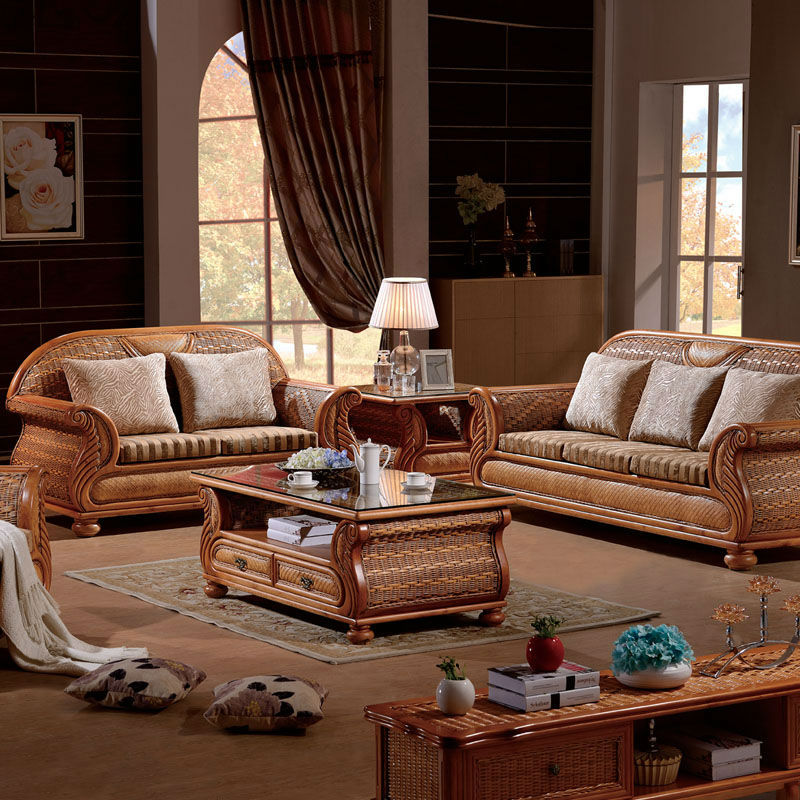 Wicker Rattan Furniture Living Room On Sale Trend Home Design And Decor