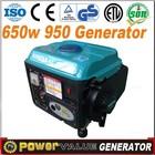 Small Gasoline Tiger Generator TG 950 Generator 50cc 2 Stroke Portable Generator
