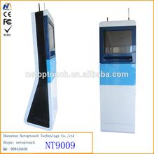 Touch screen Online Access info kiosk terminal