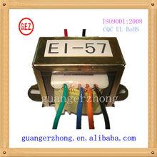 pure copper EI-57 power transformer 220v 24v