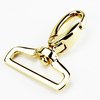 Chain accessories dog snap buckle hook with d ring