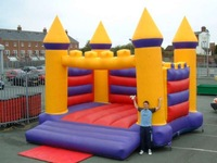 Inflatable jumping castle, used jumping castles for sale, bouncy castle pvc material