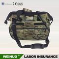 Leather Electrician Backpack Folding Waist RollingTool Bag