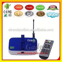 10 / 100 / 1000Base-T RJ45 connectors or modular jacks into Internet TV Set Top Box