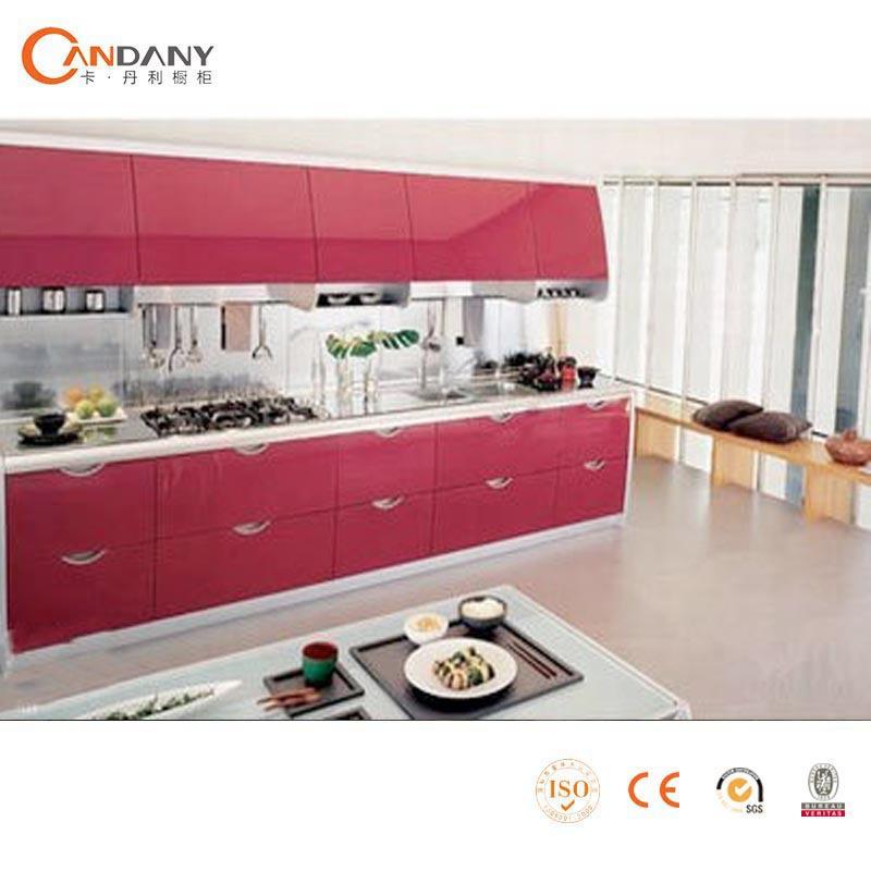 Rode roos moderne keuken kast ontwerpen fiber keuken kast keuken kasten product id 60051041823 - Afbeelding moderne keuken ...