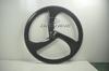 3 spokes carbon wheel,carbon tri-spoke wheel,carbon three spoke bicycle wheel