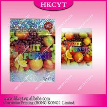 High quality ziplock aluminium foil plastic bag / Fruit punch 3+1g spice potpourri bag/ herbal incense bag for sale