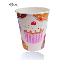 16oz fancy coffee cup can be custom cup for double wall paper cup
