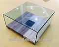 Doblada vidrio templado mesas de café