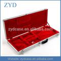 Nuevo de aluminio de plata de la guitarra eléctrica duro caso zyd-hzmgtc003
