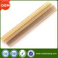 De alta calidad de metal que estampa piezas pequeñas, oem de cobre de precisión que estampa piezas