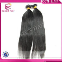 New products 70 300g excellent 2 pieces 18 inch tangle free shedding free u tip hair extension