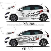Custom Made Vinyl Car Sticker, Car Body Sticker,Sticker For Car