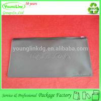 High quality Unique USA black plastic messenger PVC bag supplier