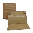 eco-friendly hand-wrapped cork case cork bag for mini Ipad cork