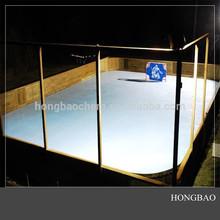 shooting rink skating sheet/high density polyethylene fencing/hockey fence playground
