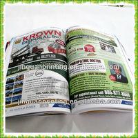 Professional adult magazines printing wholesale China