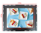 Good quality industrial VESA mount/wall mount/embedded 12 inch taiwan screen lcd