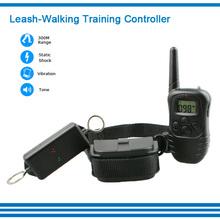 Hot Sale Vibrate Pet Dog Leash Walking Controller Shock Pet Dog Controller For Ong Dog