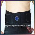 unisex deporte de entrenamiento ajustable fittness de levantamiento de pesas cinturón de la cintura de banda de apoyo