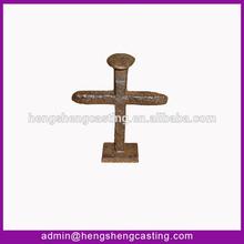 beautiful cast iron small nail cross garden ornaments