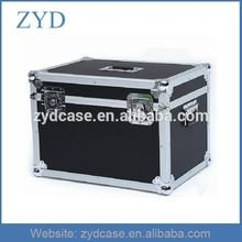 China aluminum camera flight road case with durable Metal corners, 57.5 x 41 x 41cm