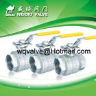 Stainless steel ball valve ,three piece body threaded end CF8M DN150