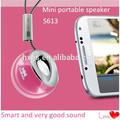 Venda quente! Shenzhen fábrica de venda de música de cristal mini alto-falante de som caixa/falante bluetooth
