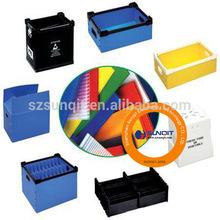 Colored PP Sheet box/PP board box/PP corrugated box