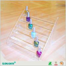Guangzhou Wholesale Manufacturer 5 tier acrylic opi nail polish display retail store display