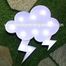direct manufacture of illuminated LED light