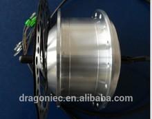 200w electric bike brushless grarless hub motor
