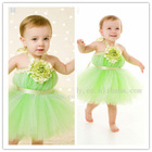 2014 Latest flower girl dresses toddler tulle baby kids tutu dress for wedding kids wedding bridal party wear dresses for girls