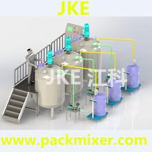 MT-1000L industrial Chemical mixer agitator detergent production equipment industrial cosmetic liquid detergent mixer
