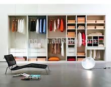 modern wooden sliding door wardrobe armoire HOT SALE