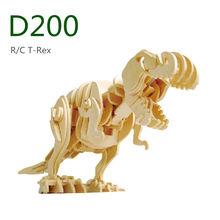 R/C Toy T-rex 3D Wooden Puzzle