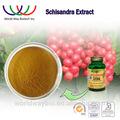 Schisandra estratto campioni gratuiti porcellana gmp fornitore estratto di erbe frutto schisandra estratto schisandrin 2%- 9%